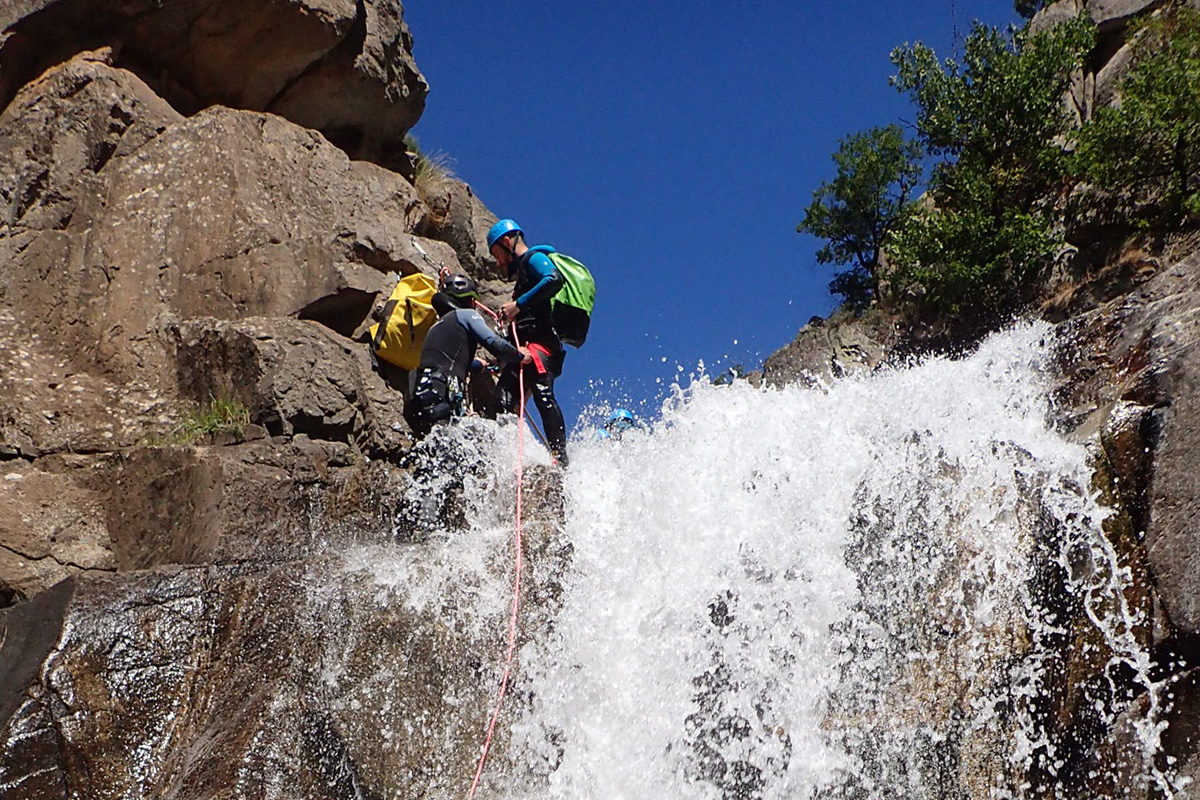 Canyoning Chassezac intégral