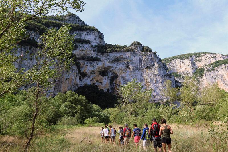 Parcours rando aventure Pont d'Arc
